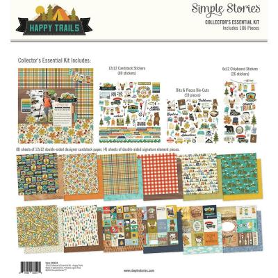 Simple Stories Collector's Essential Kit - Happy Trails
